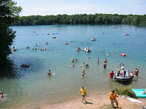 Untergrombach See