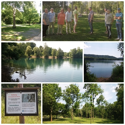 Untergrombach Baggersee